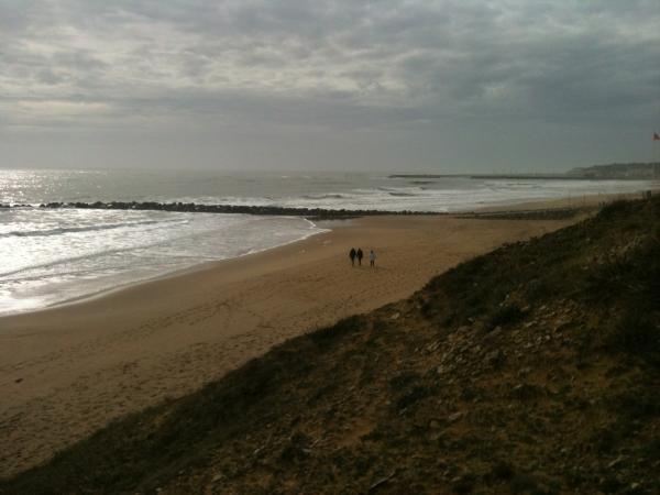 Photographie, plage, mer